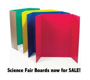 science fair board sale